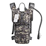 Seamand Hydration Backpack with 3L Water Bladder for Hiking...