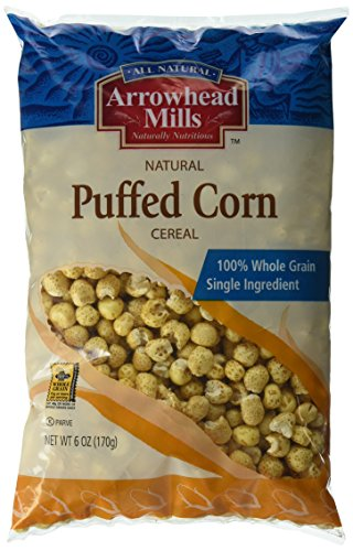 Arrowhead Mills Cereal Puffed Corn 6 Ounce Pack Of 12