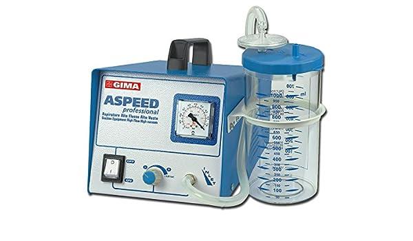 Gima 28245 aspirador quirúrgico Aspeed con bomba doble, 230 V ...