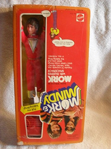 Mork And Mindy Action Figure Doll With Talking Spacepack -Mattel Vintage 1979 from Unbranded