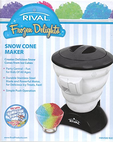 Rival Frozen Delights Snow Cone Maker (Black)