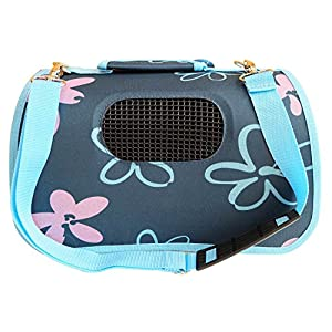 BPS (R) Portador Transportín Bolsa Bolso de Tela para Perro, Gato, Mascotas, Animales,Tamaño:(L,51x26x29cm) (Azul) BPS…