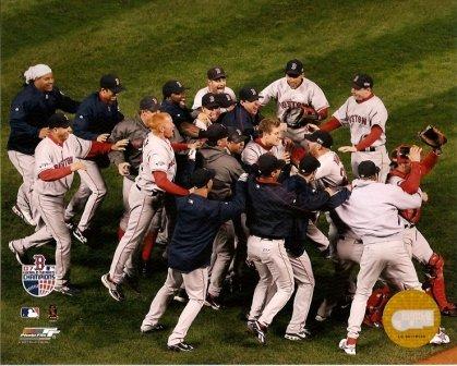 Boston Red Sox 2007 World Series Team Celebration 8x10 Photo
