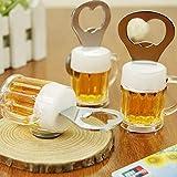 Fancy Shoppee Bottle Opener Fridge Magnet Beer Glass Shape(Design Will be Picked up at Random)
