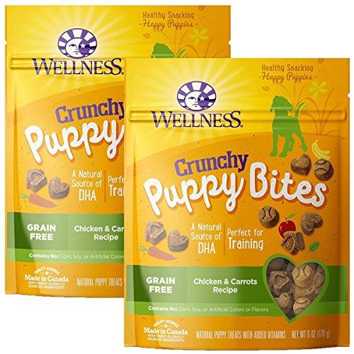 (Wellness Puppy Bites Natural Grain Free Puppy Training Treats )