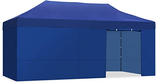 Kewayes CARPLE-3X6 AZUL Plegable Impermeable Exterior, Carpa de plegado Fácil para Eventos, Jardín, Fiestas al Aire Libre, 3x6m: Amazon.es: Juguetes y juegos