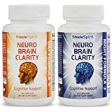Advanced 24hr Nootropic Brain Supplement: A Powerful, All Natural, Day & Night Brain Function Booster Stack, Enhancing Memory, Clarity, Focus, Concentration, Energy & more; 120 Smart Power Pills