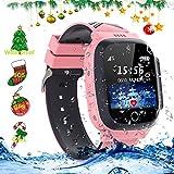 Best Tracker Watch For Kids - LDB Direct Kids Waterproof Smartwatches,LBS/GPS Tracker SOS Call Review