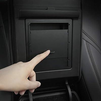 BASENOR Tesla Model 3 Model Y Center Console Organizer Armrest Hidden Storage Box: Automotive