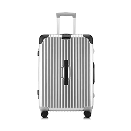 f3b496de6870 Amazon.com: Qzny Suitcase, Trolley Case Unisex Aluminum Frame PC ...