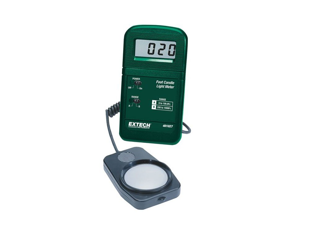 Extech 401027-NIST Pocket Foot Candle Light Meter with NIST by Extech