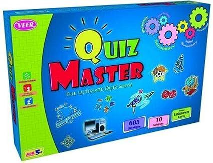 Buy Veer Quiz Master Game, Educational General Knowledge Board Game