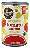 organic canned tomatoes bpa free - Natural Value Organic Tomato Sauce, 15 Ounce (Pack of 12)
