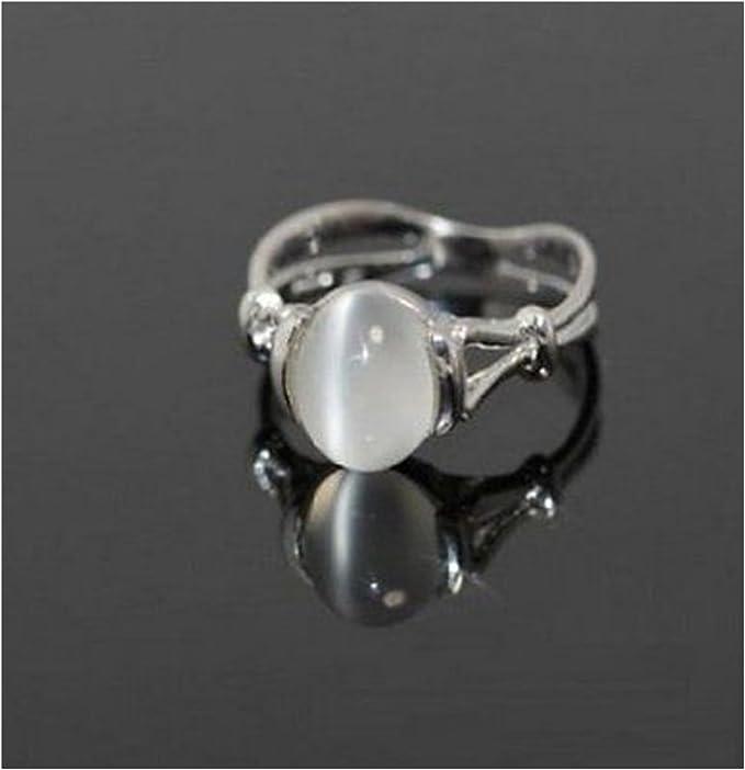 04001479 lureme/® Fashion Alloy Twilight Saga Bella Natural Cateye Stone Womens Ring