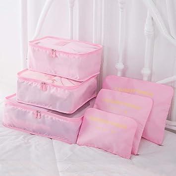 fd55b43a3f55 Amazon.com : Saasiiyo 6PCS/1Set Travel Waterproof Storage Bag ...