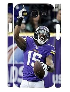 3D Print Customized Classic Sports Man Anti Slip Phone Cover for Samsung Galaxy S3 I9300