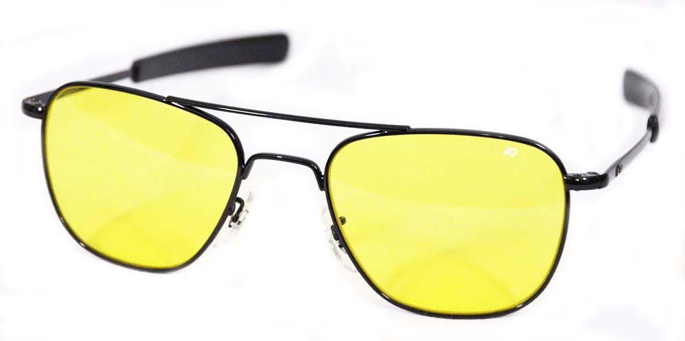 American Optical Original piloto bayoneta 52 amarillo negro ...