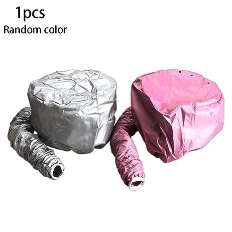 1pc Soft Bonnet Capuche Seche Cheveux Casque Chauffant