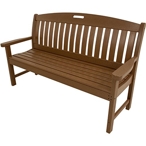 Avalon Patio Furniture - Hanover Outdoor Furniture HVNB60TE Avalon All Weather Porch Bench, 60