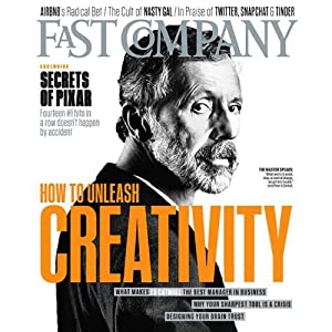 Audible Fast Company, April 2014 Periodical