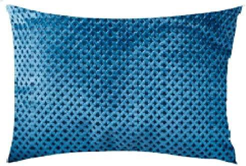 Mauby Home Diamond Velvet Pillow Teal