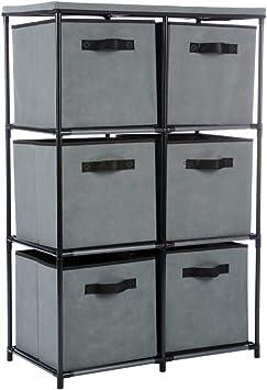 Amazon.com: Function Home Organizador de almacenamiento de 6 ...