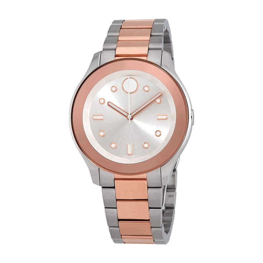 e4df5f4d3db Amazon.com  Movado Women s Bold - 3600430 Stainless Steel Rose Gold  Ion-Plated One Size  Movado  Watches
