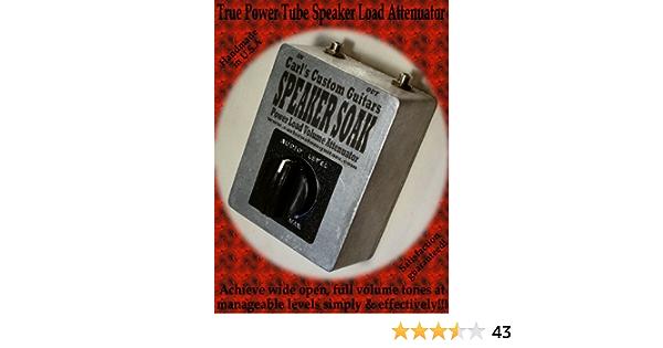Amazon Com 8 Ohm Speaker Soak Guitar Amp Power Tube Mass Brake Attenuator For Fender Hot Rod Deluxe Musical Instruments