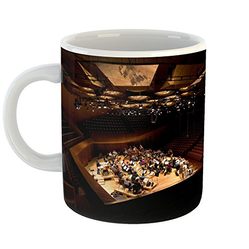 Coffee Concerto Gift (Westlake Art - Theatre Theater - 11oz Coffee Cup Mug - Modern Picture Photography Artwork Home Office Birthday Gift - 11 Ounce (6F55-433A1))