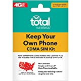 Wireless : Total Wireless Keep Your Own Phone 3-in-1 Prepaid SIM Kit
