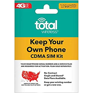 Total Wireless Keep Your Own Phone 3-in-1 Prepaid SIM Kit