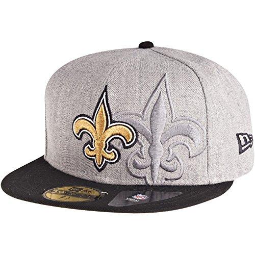 艦隊アルネたまにニューエラ (New Era) 59フィフティ キャップ - スクリーニング NFL ニューオリンズ?セインツ (New Orleans Saints)