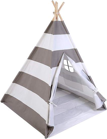 Estink Spielzelt, Kinder Tipi Zelt Indianerzelt Tragbar
