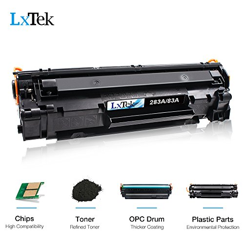 LxTek Compatible 83A Toner Cartridge Replacement for HP 83A CF283A