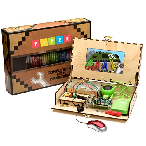 Piper Computer Kit | Educational Computer that Teaches STEM and Coding through Minecraft (Top Rated Computers compare prices)