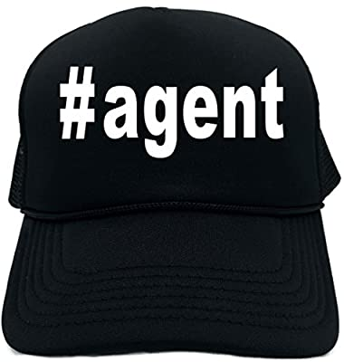 Signature Depot Funny Trucker Hat (#agent (Hashtag Tee Shirt) Unisex Adult Foam