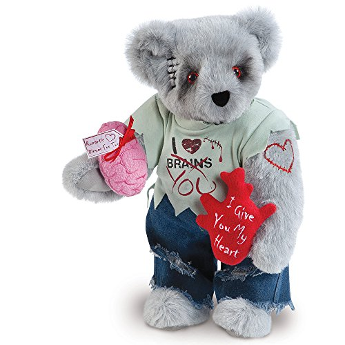 Vermont Teddy Bear - Zombie Lover Bear, 15 inches, Made in the USA for $<!--$89.99-->