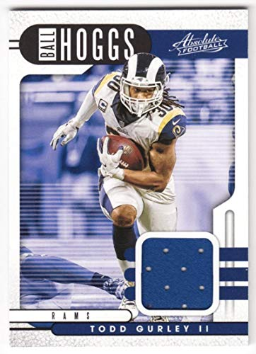 Todd Gurley II 2019 Panini Absolute Ball Hoggs Relics #3 JSY NM-MT MEM LA Rams Football NFL from Absolute