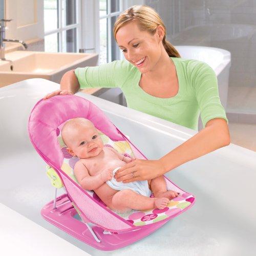 Baby Bather Seat Infant Bathing Support Newborn Girl Bath Tub Sink ...