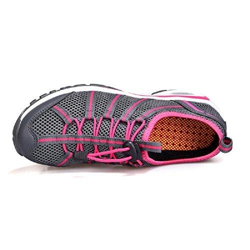 Caviglia Henorio Multisport Donna Piatta Scarpe Grigio Outdoor Sneaker nbsp;Morbida qSpYHq