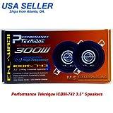 "PERFORMANCE TEKNIQUE ICBM-743 3.5"" 2-WAY SPEAKER [Electronics] by Performance Teknique"
