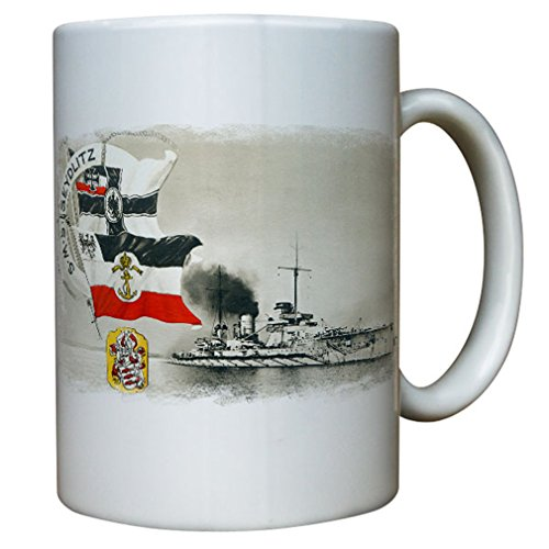 Sms Seydlitz Big cruiser battle cruiser German Imperial Navy Germany General Friedrich Wilhelm Von - Coffee Cup Mug