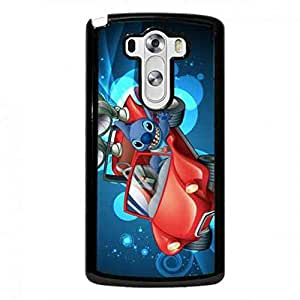 The Disney Cartoon Vintage Lilo And Stitch Series Phone Funda Cover For Lg g3,Phone Funda Cover For Lg g3