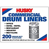 [200-Count] HUSKY 55 Gal.(208 L) COMMERCIAL DRUM