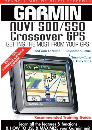 Garmin Instructional Training DVD: NUVI 500 / 550 Crossover GPS (Gps Instructional Dvds)