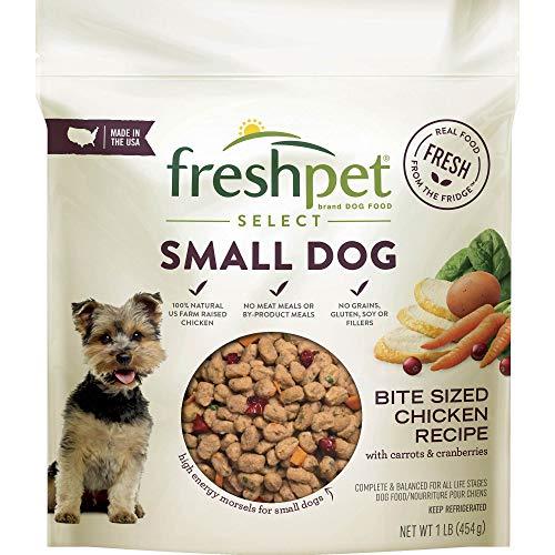 Freshpet Select Small Dog Bite Sized Chicken Recipe, 1 lb - 2 Packs