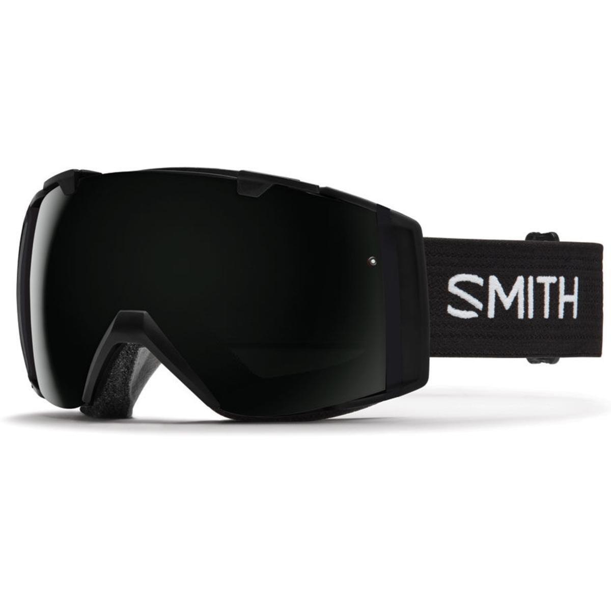 Smith Optics I/O Adult Snowmobile Goggles Black / Blackout by Smith Optics