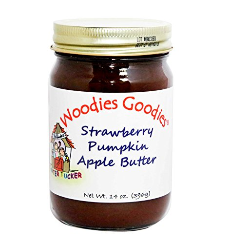 Woodies Goodies Strawberry Pumpkin Apple Butter, 14 - Pumpkin Cheesecake Jar