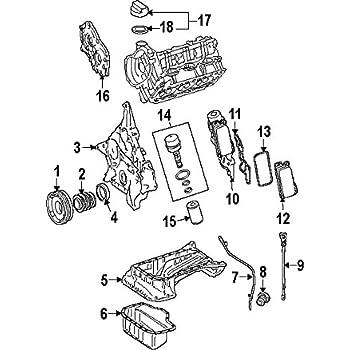 Amazon Com Mercedes Benz 272 010 20 01 Engine Oil Pan Automotive