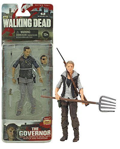 Maven Gifts: The Walking Dead Series 4 The Governor and Andrea Action Figure Set